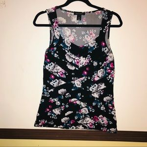 White House Black Market sleeveless top Size S
